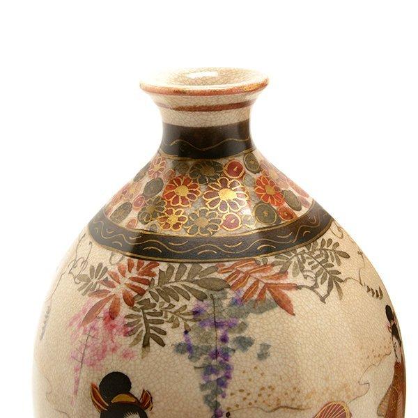 Two Small Japanese Satsuma Vases, Meiji Period - 6