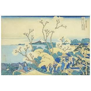 Katsushika Hokusai (1760-1849): Mt. Fuji from Gotenyama
