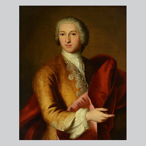 "Attr. to SIR GODFREY KNELLER ""Portrait of a Venice"