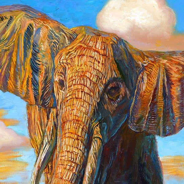 """ALEXANDER KANCHIK """"Elephant Rock"""" and """"Elephant Cliffs"""" - 9"""