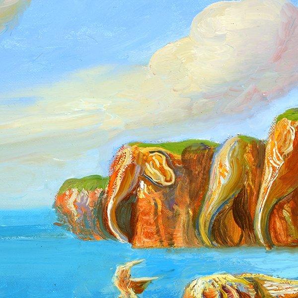 """ALEXANDER KANCHIK """"Elephant Rock"""" and """"Elephant Cliffs"""" - 3"""