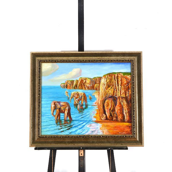 """ALEXANDER KANCHIK """"Elephant Rock"""" and """"Elephant Cliffs"""" - 7"""