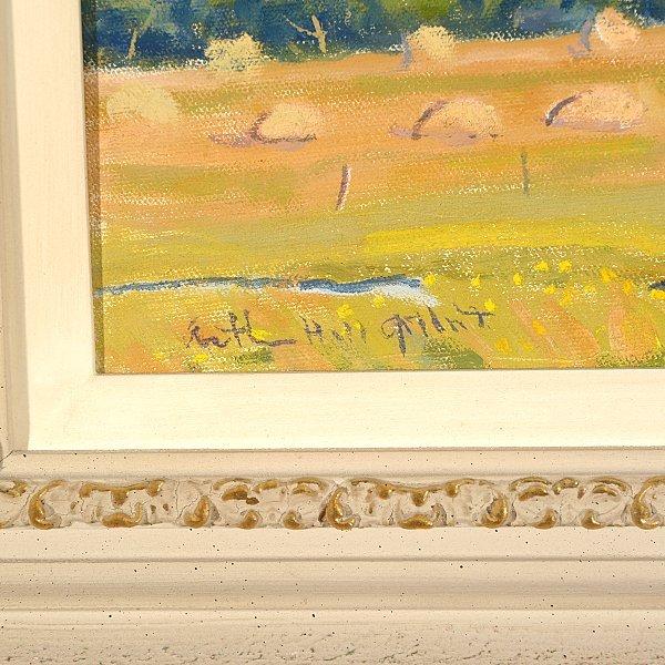"ARTHUR HILL GILBERT ""California Hills"" Oil on Canvas. - 2"