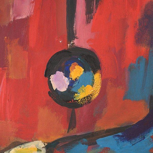 "JOSE MIJARES FERNANDEZ ""Untitled"" Oil on Masonite. - 5"