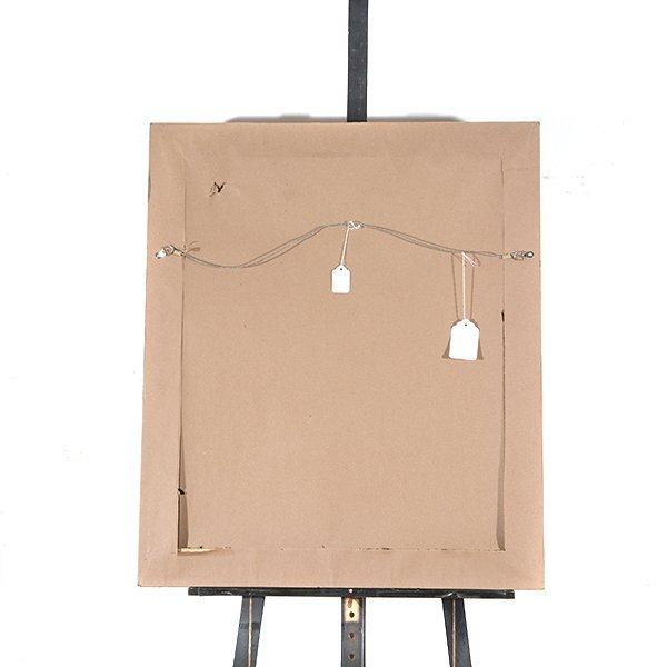 "JOSE MIJARES FERNANDEZ ""Untitled"" Oil on Masonite. - 9"