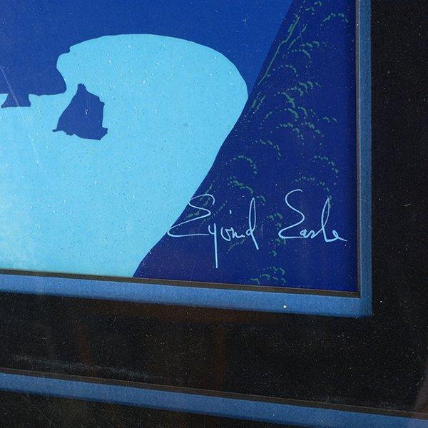 "EYVIND EARLE ""Mystical Fog"" Serigraph. - 2"