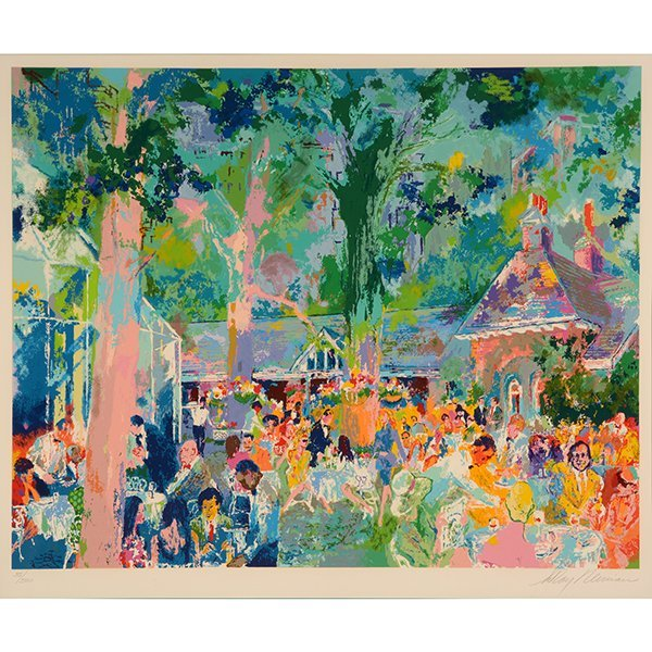 "LEROY NEIMAN ""Tavern on the Green"" Serigraph."