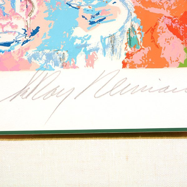 "LEROY NEIMAN ""Tavern on the Green"" Serigraph. - 2"