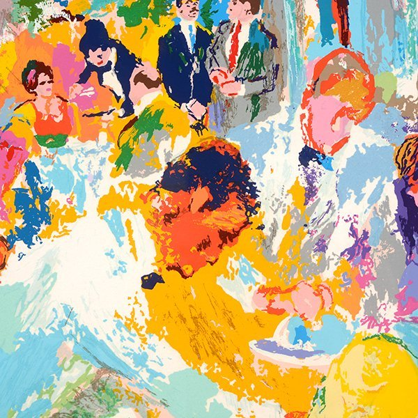 "LEROY NEIMAN ""Tavern on the Green"" Serigraph. - 3"