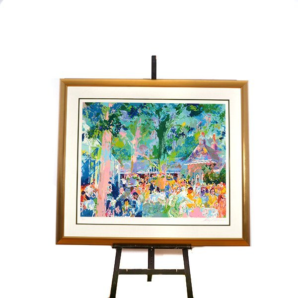 "LEROY NEIMAN ""Tavern on the Green"" Serigraph. - 7"