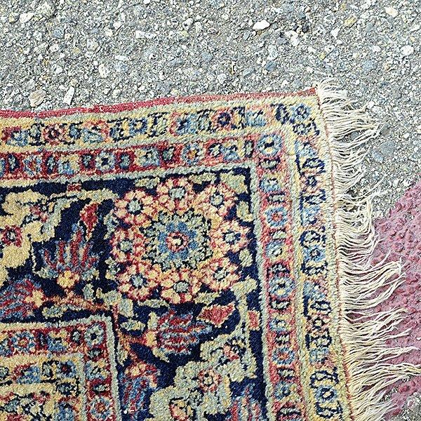 Lavar Kerman Carpet: 4 feet 8 inches x 6 feet 9 inches - 2