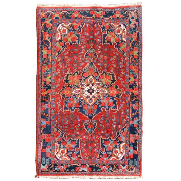 Bijar Rug: 4 feet x 6 feet 8 inches
