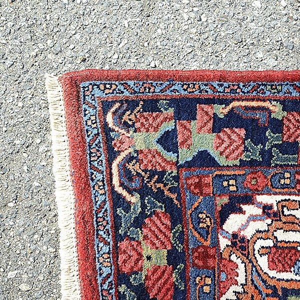 Bijar Rug: 4 feet x 6 feet 8 inches - 2