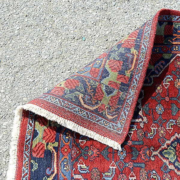 Bijar Rug: 4 feet x 6 feet 8 inches - 3