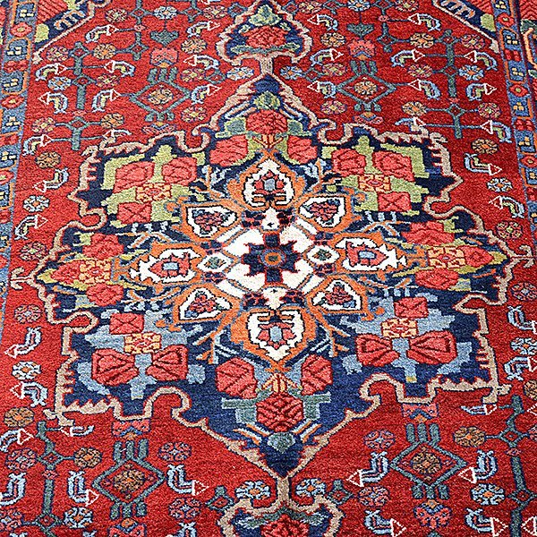 Bijar Rug: 4 feet x 6 feet 8 inches - 4