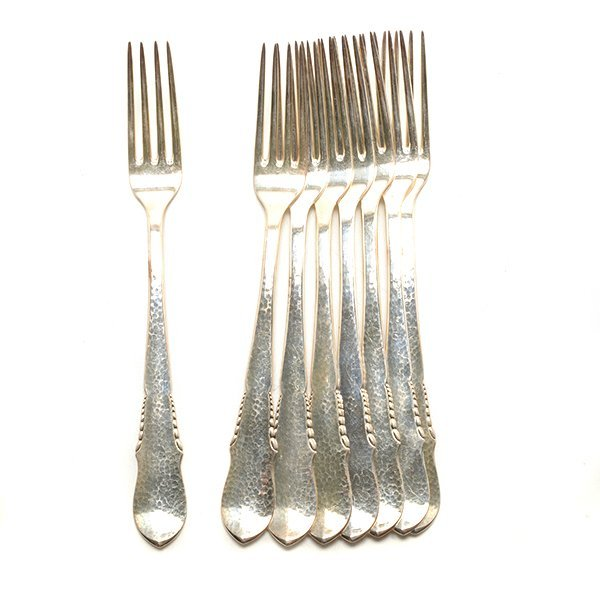Dutch Sterling Silver Flatware Service - 2
