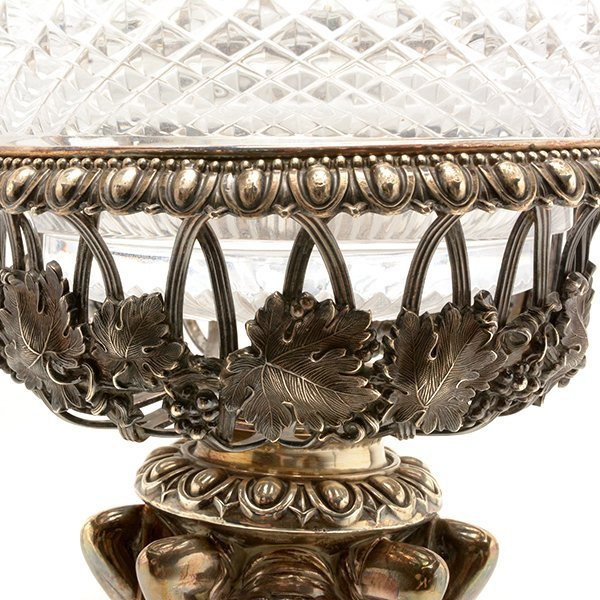 Aesthetic Movement Silver Plated Figural Epergne - 3