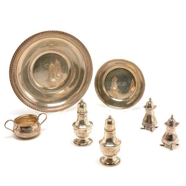 Seven Sterling Silver Hollowwares