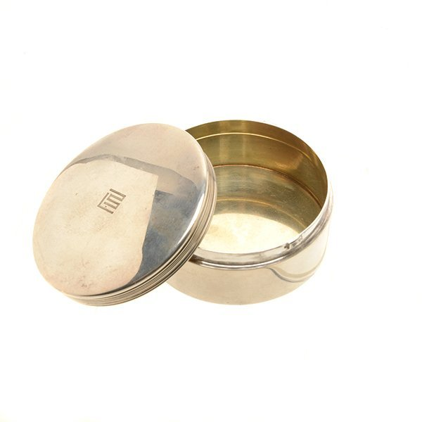 Tiffany Sterling Silver Floriform Dish and Box - 7
