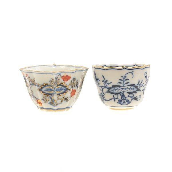 Collection of Meissen Blue Onion Porcelains - 6