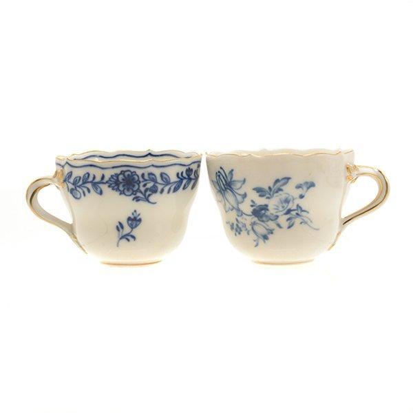 Collection of Meissen Blue Onion Porcelains - 7