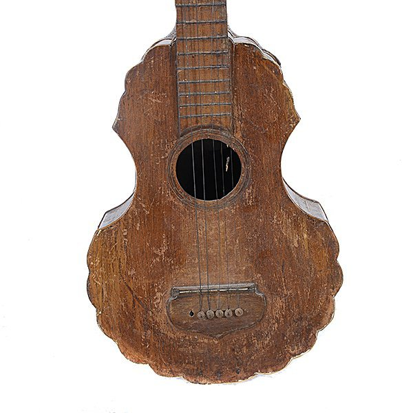 Spanish Colonial Guitar, 18th/19th Century - 2