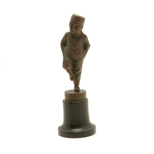 Continental Bronze Figure of a Young Boy