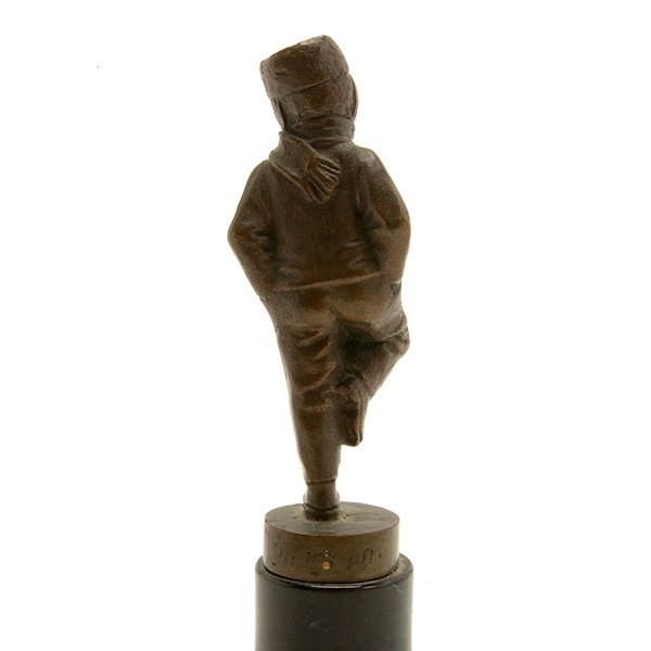 Continental Bronze Figure of a Young Boy - 4
