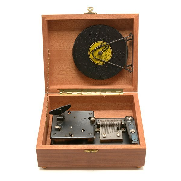 Thorens Swiss Cased Music Box with Discs - 2
