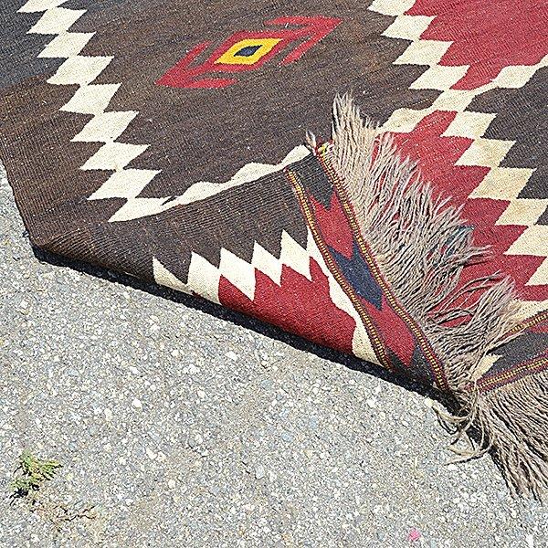 American Indian Flatweave Rug - 3