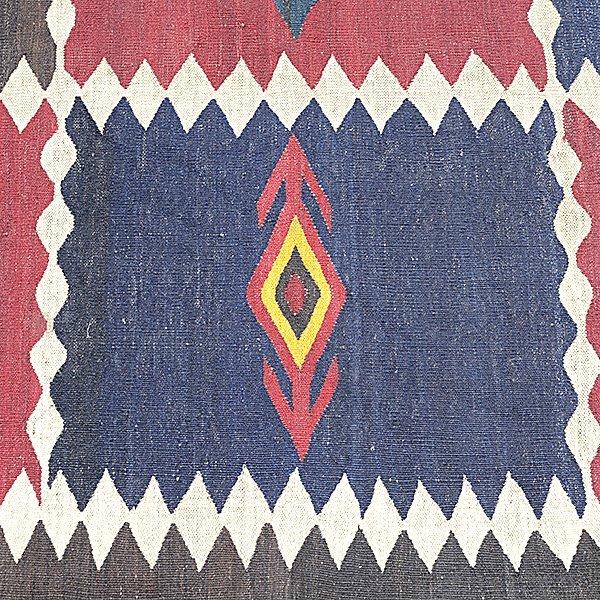 American Indian Flatweave Rug - 4