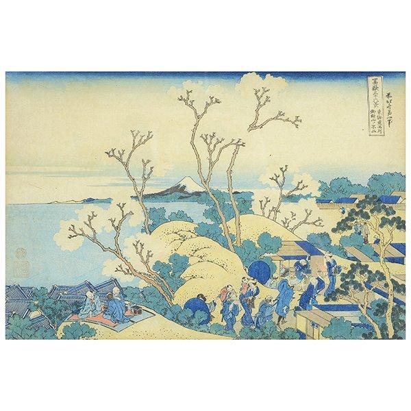 Hokusai: Mt. Fuji from Gotenyama at Shinagawa on