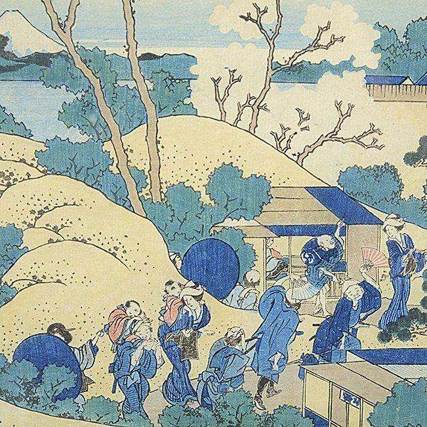 Hokusai: Mt. Fuji from Gotenyama at Shinagawa on - 3