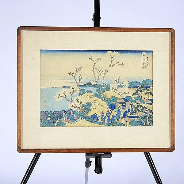 Hokusai: Mt. Fuji from Gotenyama at Shinagawa on - 5