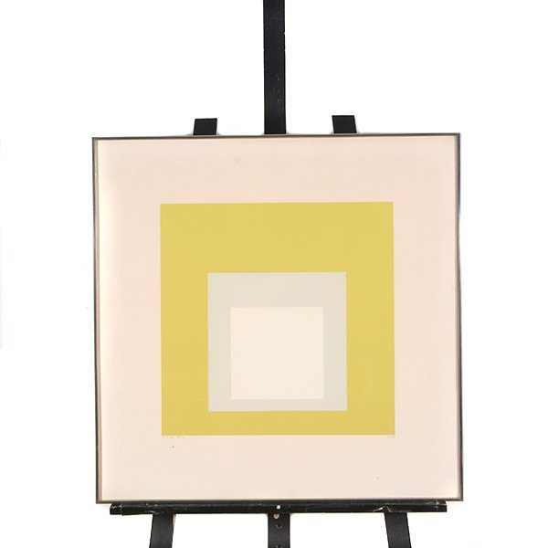 Josef Albers Hommage to the Square, Silkscreen - 10