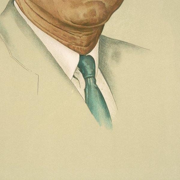 "Norman Rockwell ""John Kennedy"" lithograph - 6"