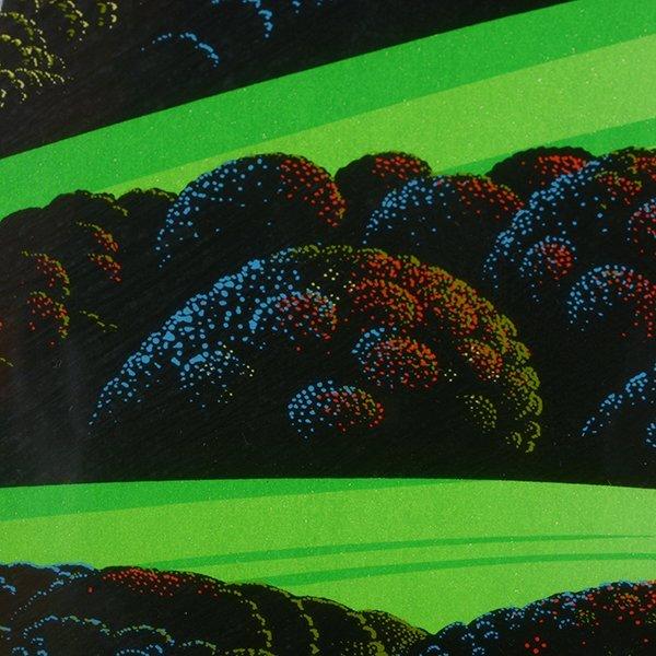 "Eyvind Earle ""Green Valley"" serigraph - 10"