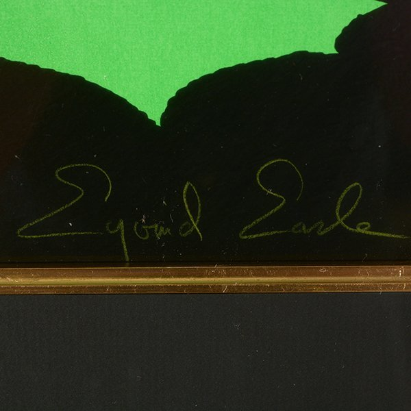 "Eyvind Earle ""Green Valley"" serigraph - 2"