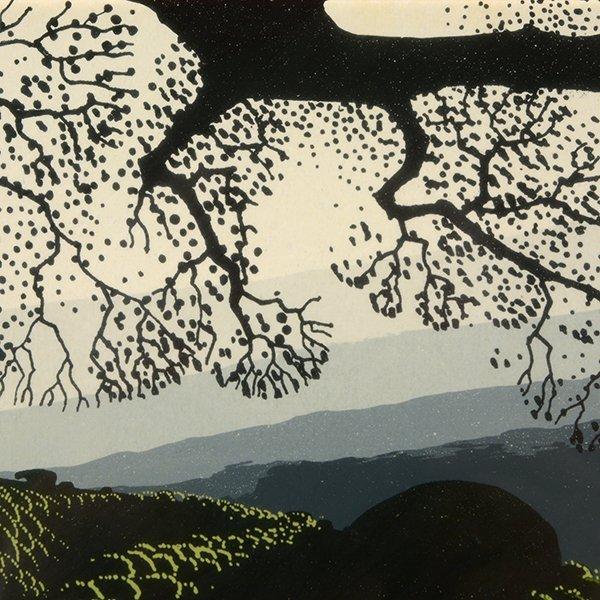 "Eyvind Earle ""Green Valley"" serigraph - 8"