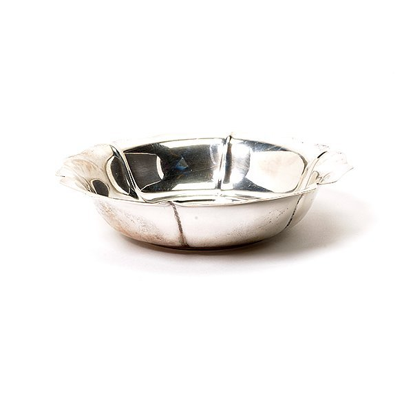 Chippendale Sterling Bread Tray and Shreve Treat Ecret - 6