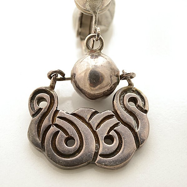 William Spratling Sterling Silver Jewelry Suite. - 3