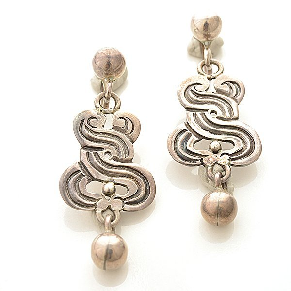William Spratling Sterling Silver Jewelry Suite. - 6