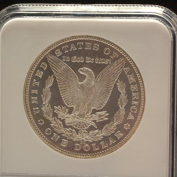 Lot of 3 US MOrgan Dollars 1882-CC PCGS MS63DMPL; 1833 - 5