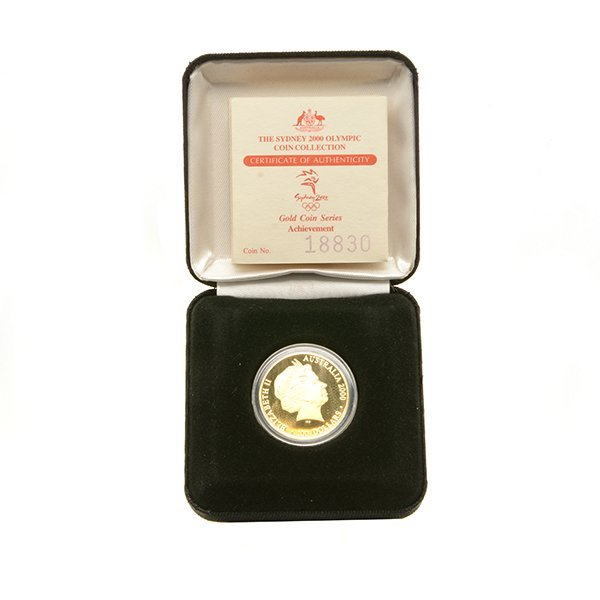Australia 2000 Olympic $100.00 Gold Coin Proof