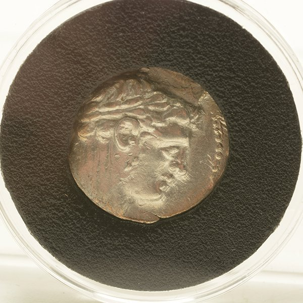 Ancient Coin Silver Half Shekel of Tyre, 33AD in - 2
