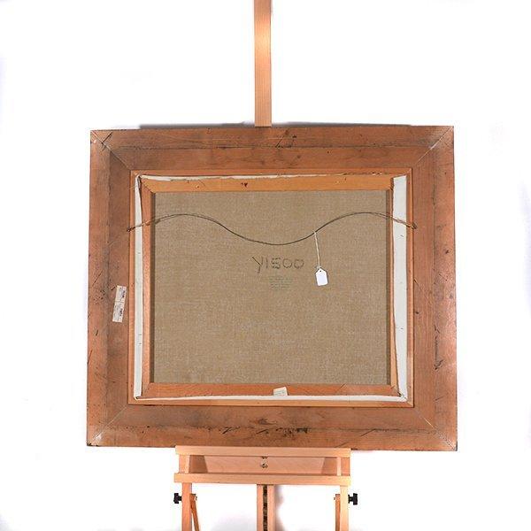 "Ignacio Gil y Sala ""Ibiza"" oil on canvas - 10"