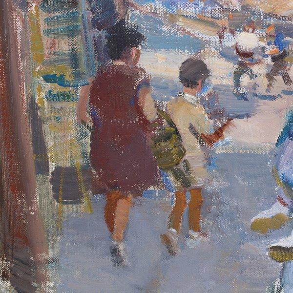 "Ignacio Gil y Sala ""Ibiza"" oil on canvas - 6"