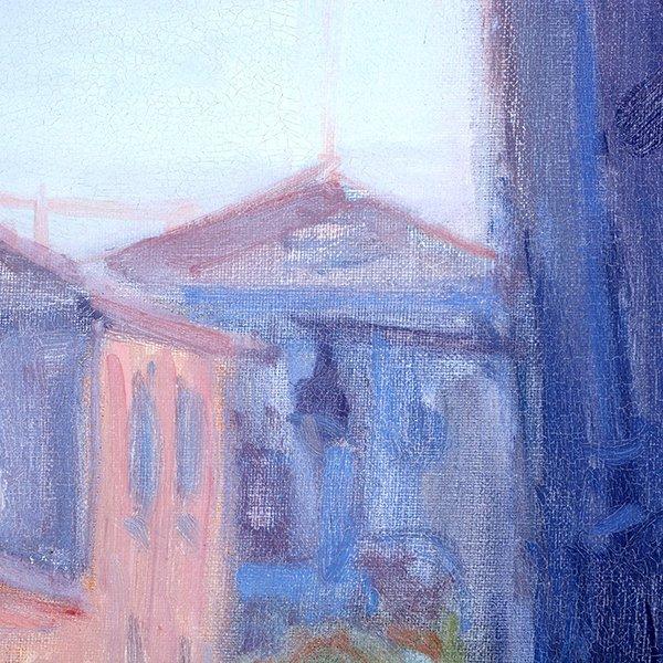 """Joe Abbrescia """"Serenita"""" oil on canvas - 10"""