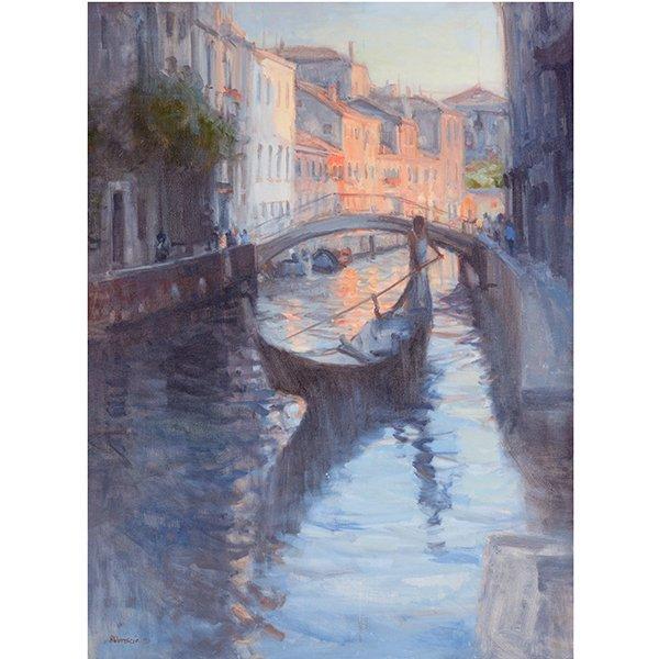 """Joe Abbrescia """"Serenita"""" oil on canvas"""