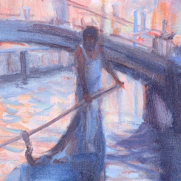 """Joe Abbrescia """"Serenita"""" oil on canvas - 3"""